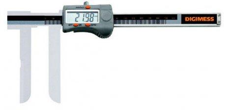 Paquímetro Digital (Bico Tipo Faca) - 20-150mm - Leit  0,01mm - Digimess